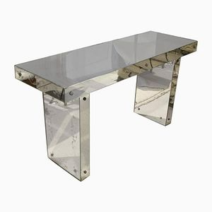 Venetian Mirrored Console Table, 1960s