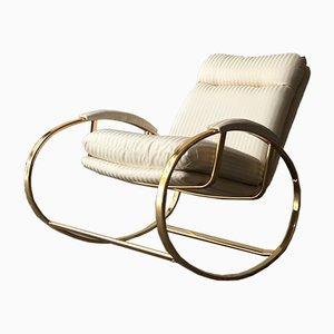 Mid-Century Modern Italian Rocking Chair, 1970s