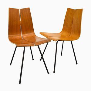 Beistellstühle von Hans Bellman, 1950er, 2er Set