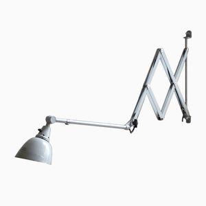 Large Vintage Model 1000-I Scissor Lamp by Curt Fischer for Midgard