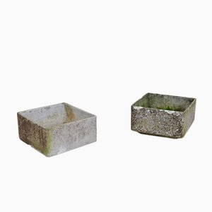 Mid-Century Planters from Eternit, Set of 2