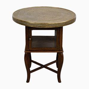 Oak Smoking or Side Table, 1920s
