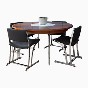 Vintage Dining Table Set by Richard Young for Merrow Associates
