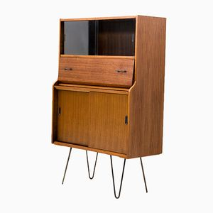 Walnut Teak Secretaire, 1960s