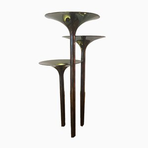 Concerto di Trombe Candleholders by Lino Sabattini for Christofle, 1960s