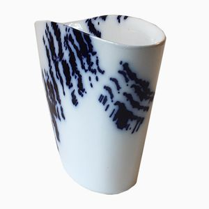 Modernist Danish Model 367 Porcelain Vase by Iwan Weiss for Royal Copenhagen, 1970s
