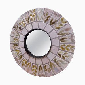Specchio in ceramica di Roger Capron, Francia, anni '60