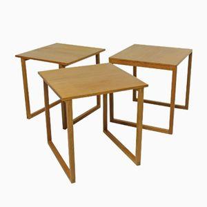 Cube Nesting Tables by Kai Kristiansen, 1960s