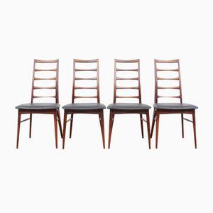 Lis Stühle von Niels Koefoed für Koefoeds Møbelfabrik, 1950er, 4er Set