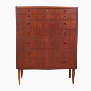 Mid-Century Teak Chest of Drawers, 1950s