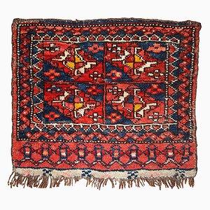 Tappeto antico bagface fatto a mano, Uzbekistan, fine XIX secolo