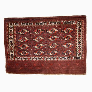 Antique Turkmen Tekke Handmade Rug, 1860s