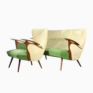 Vintage Sofa und Sessel