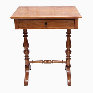 Antique Sewing Table in Cherry