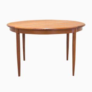 Table de Salle à Manger Extensible Vintage en Teck par Niels Otto Møller pour J.L. Møllers