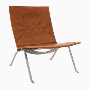 Vintage PK22 Sessel von Poul Kjærholm für E. Kold Christensen