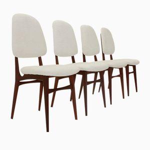 Mid-Century Italian Dining Chairs, 1950s, Set of 4