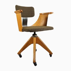 Vintage Height-Adjustable Office Chair