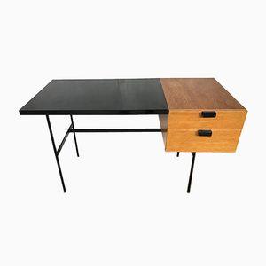 Modell CM141 Eiche Schreibtisch von Pierre Paulin für Thonet, 1954