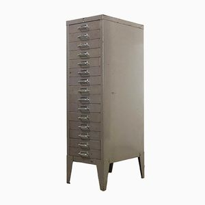 Industrial Filing Cabinet from Stor All Steel, 1950s