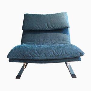 Italian Onda Lounge Chair by Giovanni Offredi for Saporiti, 1970s