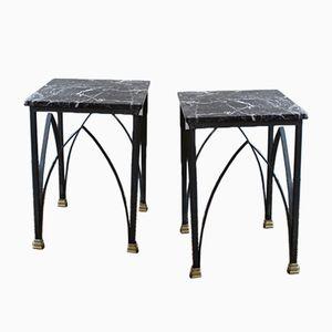 Vintage marmor beistelltisch von stol bei pamono kaufen for Saarinen beistelltisch marmor