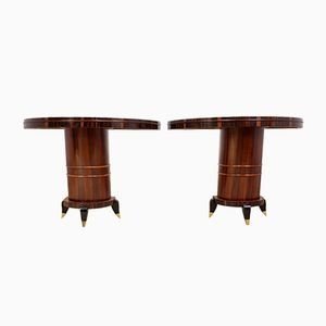 Italian Art Deco Console Tables, 1930s, Set of 2