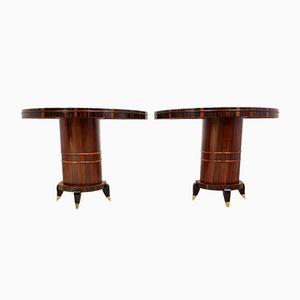 Tables Console Art Déco, Italie, 1930s, Set de 2
