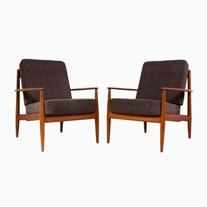 Teak Armchairs by Grete Jalk for France and Son, 1960s, Set of 2