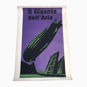 Affiche Lithographique en Couleur par Mario Sironi pour Stabilimenti Salomone, 1926