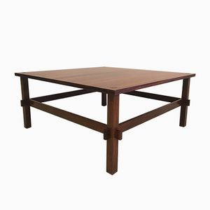 Vintage Double Sided Coffee Table by Giancarlo Frattini for Cassina
