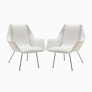Armchairs by Carlo Hauner, 1960s, Set of 2