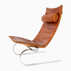 Danish Pk20 Easy Chair by Poul Kjaerholm for E. Kold Christensen, 1960s