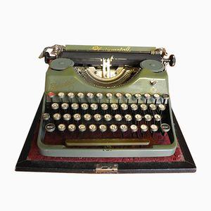 Macchina da scrivere vintage da viaggio di Rheinmetall