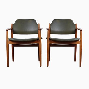 Model 62A Armchairs by Arne Vodder for Sibast, Set of 2