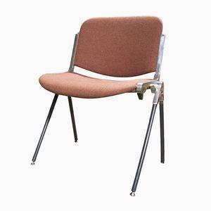 Italienische Schreibtischstühle von Giancarlo Piretti für Castelli, 1960er, 2er Set