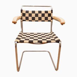 Freischwinger Armlehnstuhl von Marcel Breuer für Thonet, 1930er