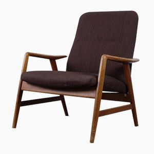 Lowback Lounge Chair by Alf Svensson for Fritz Hansen, 1957