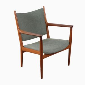 Vintage Model JH-713 Lounge Chair by Hans J. Wegner for Johannes Hansen
