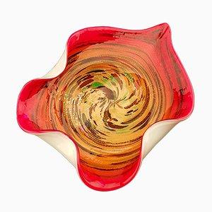 Scodella grande Avem Tutti Frutti vintage in vetro di Murano
