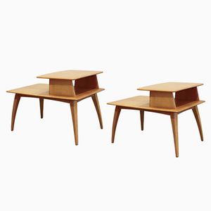 Tables de Chevet, Etats-Unis, 1960s, Set de 2
