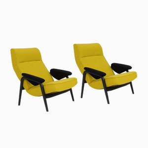 Lounge Chairs by Theo Ruth for Artifort, 1960s, Set of 2