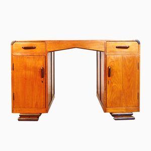 Niederländischer Schreibtisch aus Holz, 1950er