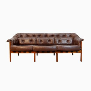 Mid-Century Swedish Sofa by Arne Norell for Coja, 1960s