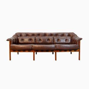 Schwedisches Mid-Century Sofa von Arne Norell für Coja, 1960er