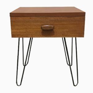 Mid-Century Quadrille Nachttisch mit Hairpin Legs von G-Plan