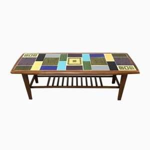 Coffee Table with Ceramic Tiles from Malkin Johnson, 1960s