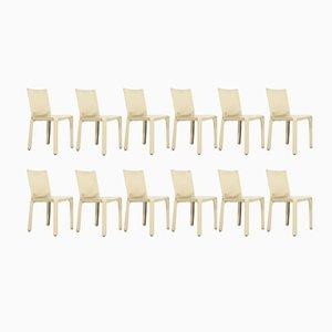 Cab Stühle von Mario Bellini für Cassina, 1980er, 12er Set