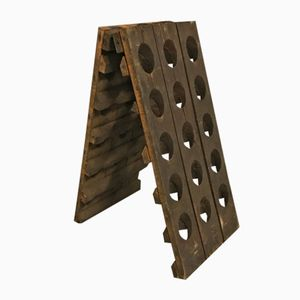 Small French Champagne Riddling Rack