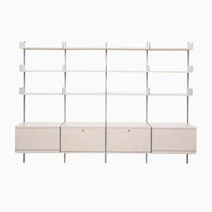 vintage 606 shelving system by dieter rams for vitsoe vintage 606 wall unit
